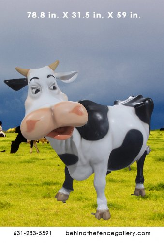 Funny Cow Statue
