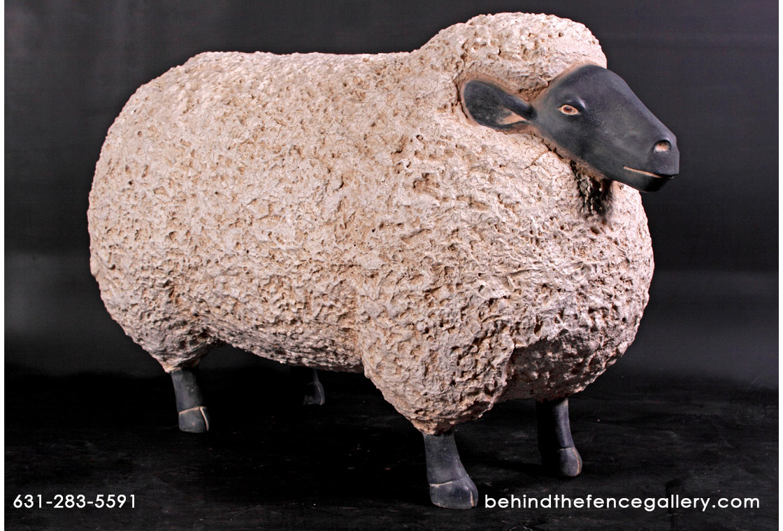 Sheep Statue - Life size
