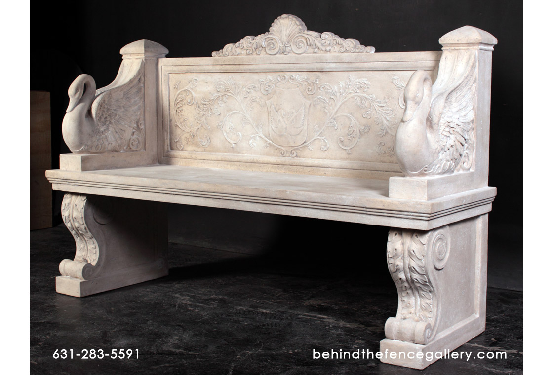 Vicenza Bench or Roman Stone finish