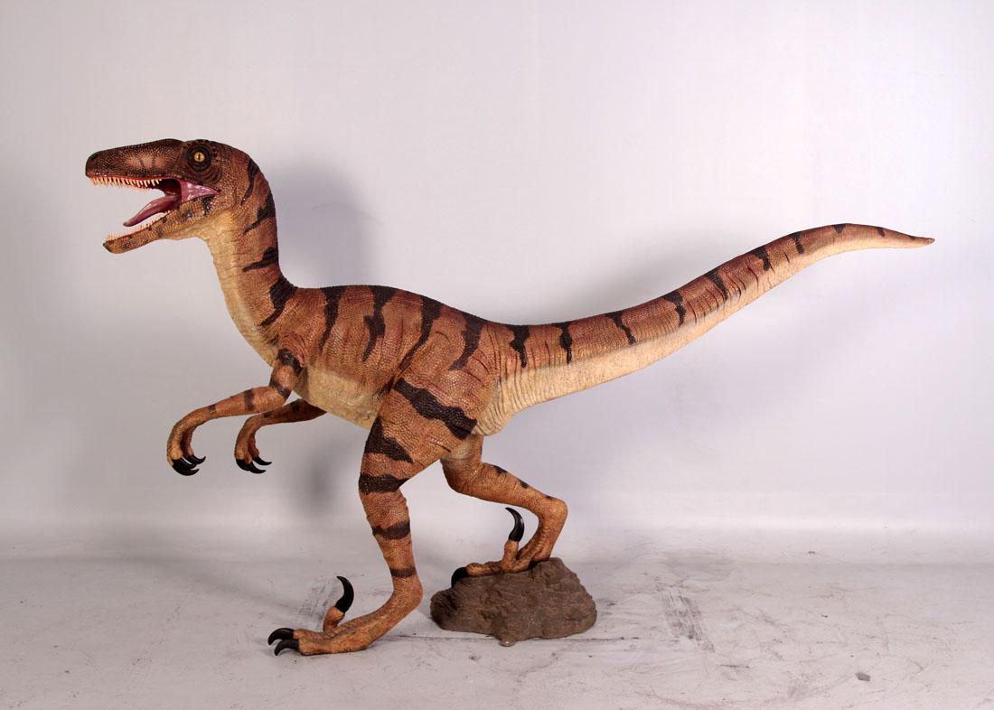 Velociraptor 5 Ft Velociraptor Fiberglass Din110015h