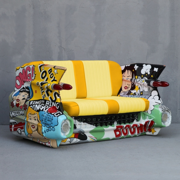 C-Car Sofa Popart