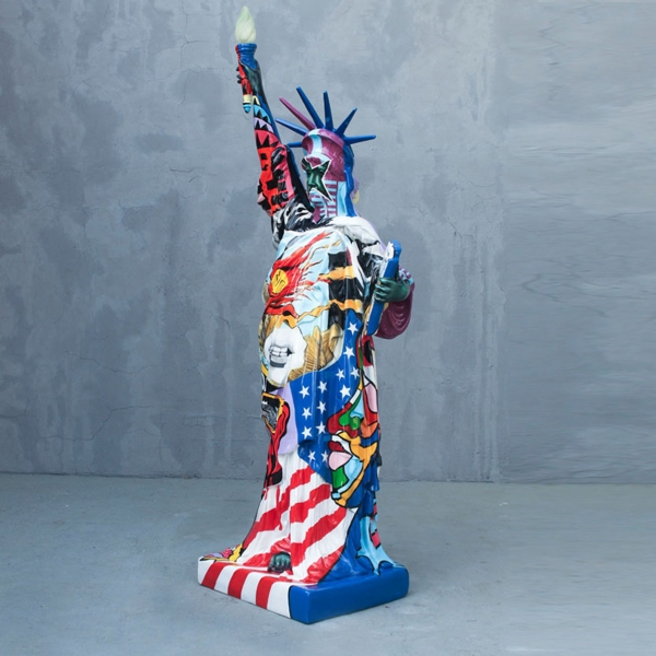 Popart Statue of Liberty