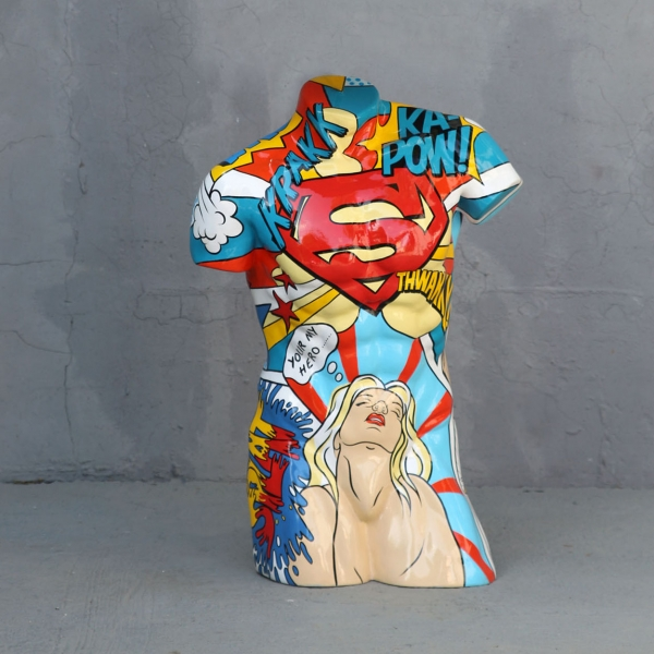 Popart Male Torso