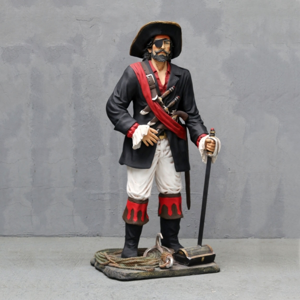 Pirate Standing 6Ft.