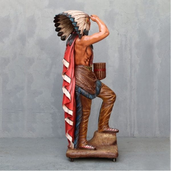 Tobacco Store Indian 6 Tall Cigar Store Indian 3459y