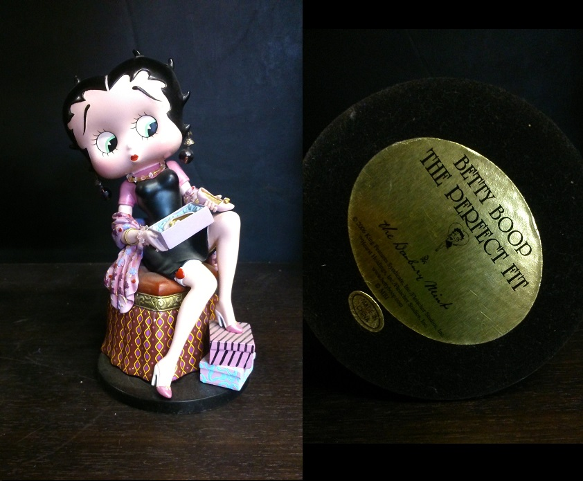 "Betty Boop ""The Perfect Fit"""