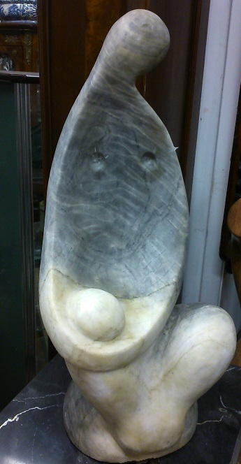 Abstract Marble Statue