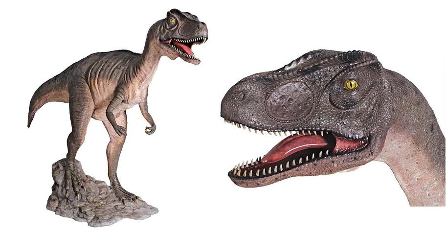 Allosaurus - Mouth Open