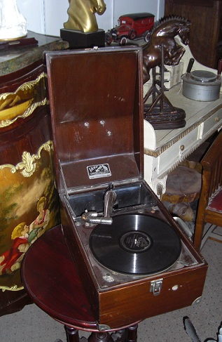 Oak Victor Talking Machine