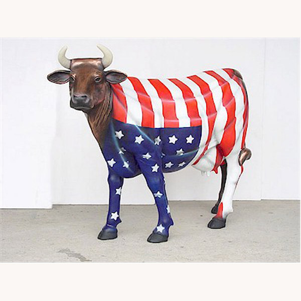 """America The Beautiful"" Cow"