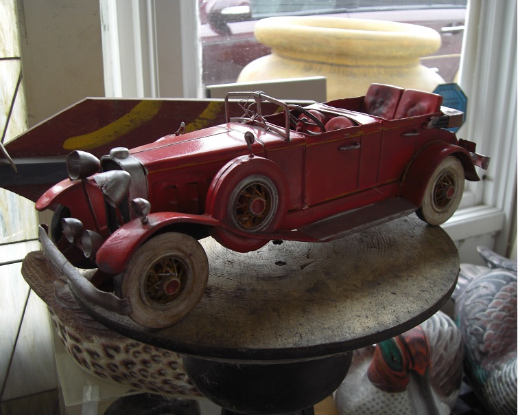 Antique Tin Car