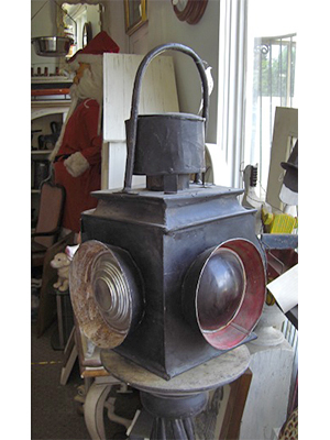 Antique Train Lantern
