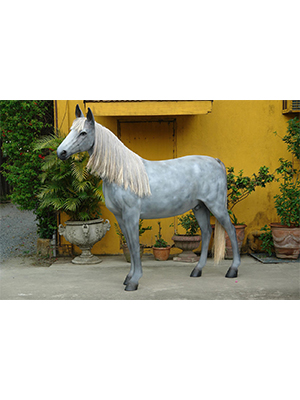 Appaloosa Horse 7 ft. -life like / Mane&Tail