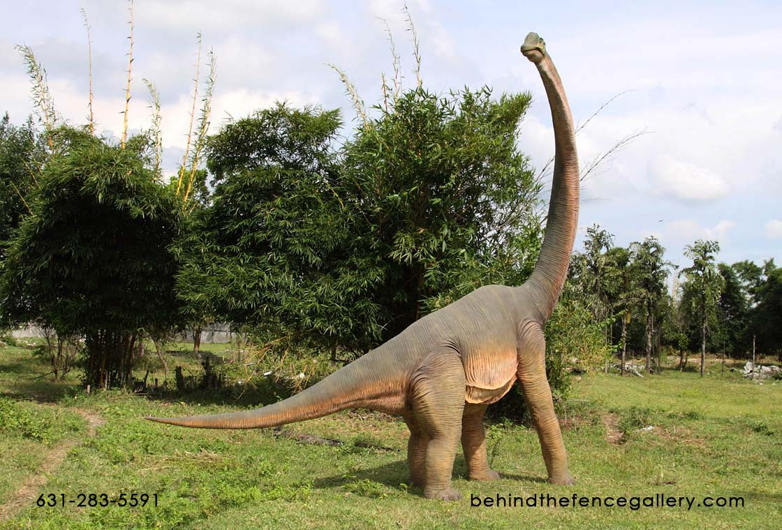 Brachiosaurus with Twisted Neck