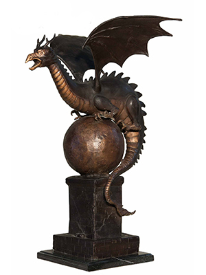 Bronze Dragon on Ball 2