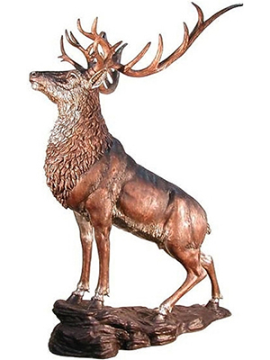 Bronze Giant Elk