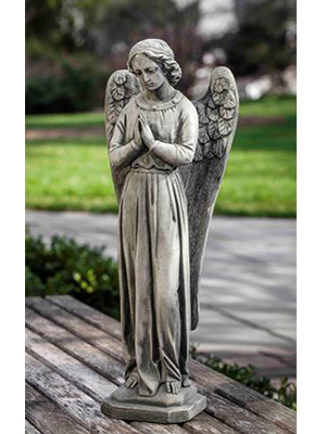 Cast Stone Angel of Hope