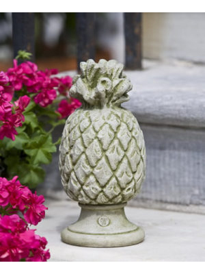 Cast Stone Pineapple Finial
