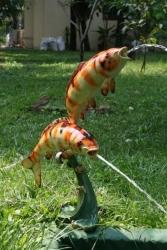 Two Craft Fish Fountain