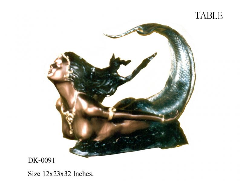 Mermaid Table Base