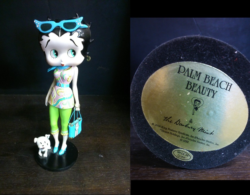 Betty Boop Palm Beach Beauty