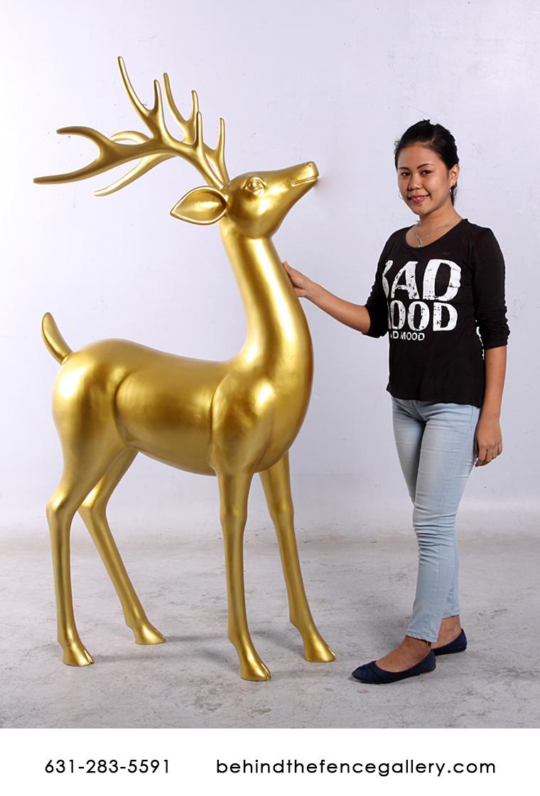 Large Christmas Reindeer Statues