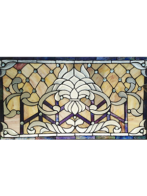 Tiffany Style Stained Glass Window Decor