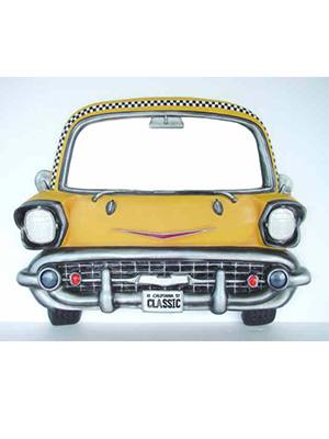 1956 Chevy Mirror