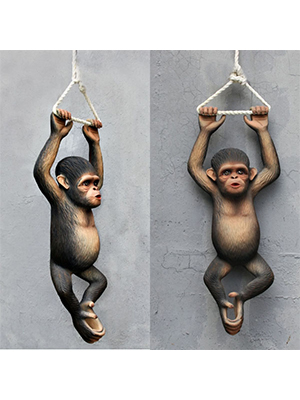 Hanging Chimpanzee 2.5 Ft