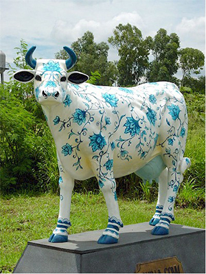 China Cow (with or without Horns)