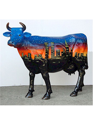 """ City Cow "" (with or without Horns)"