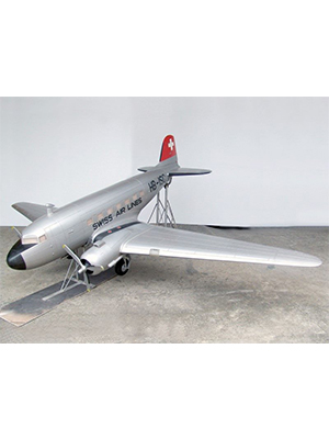 Model DC-3 Airplane