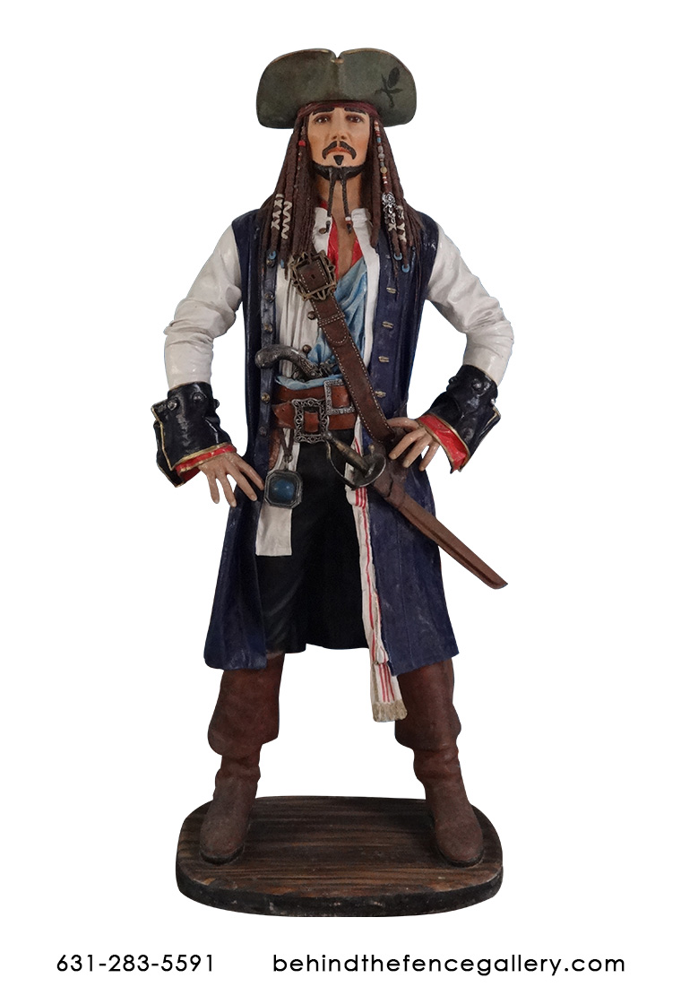 Jack the Pirate Statue