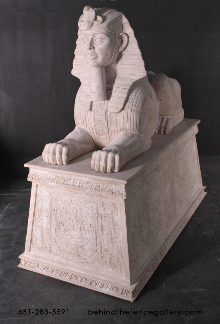 Sphinx Jumbo On Base / Roman Stone Finish