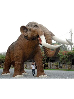 Life Size Mammoth