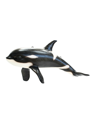 Hanging Orca Killer Whale Statue