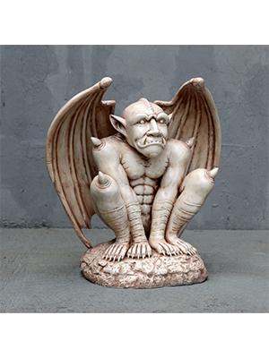 Gargoyle In Roman Stone Finish