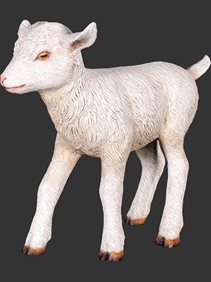 "Goat Kid Standing 15"" Tall"