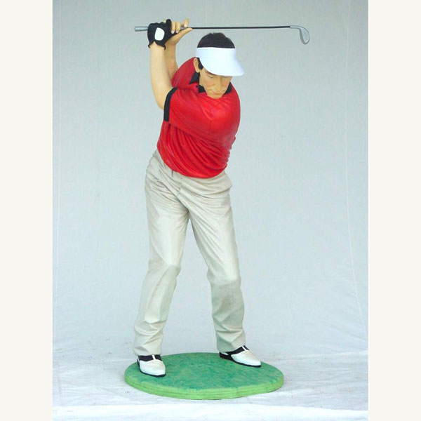 Golf Statues Car Interior Design