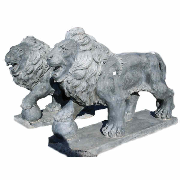Granite Lion (pair)