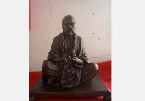 Custom Bronze Statue of Guru