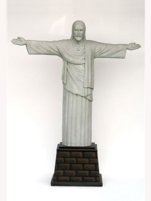 Statuary 4ft. Christ the Redeemer