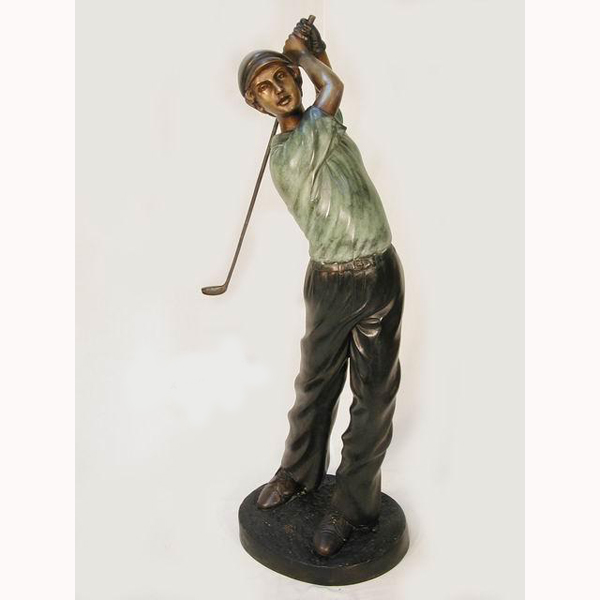 Bronze Golfer - Fore
