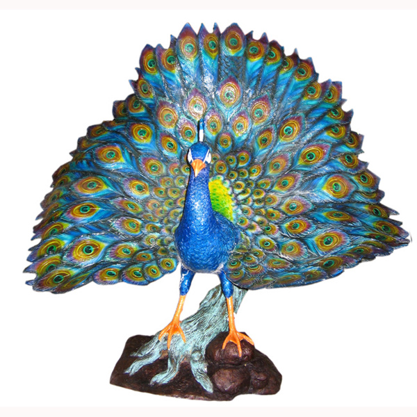 Bronze Peacock - Click Image to Close