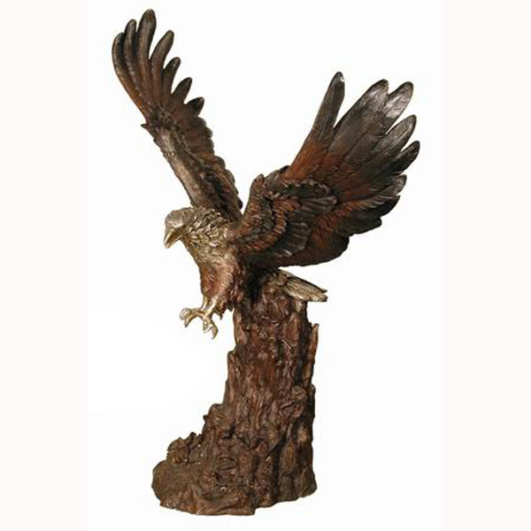 Bronze Eagle on Tree
