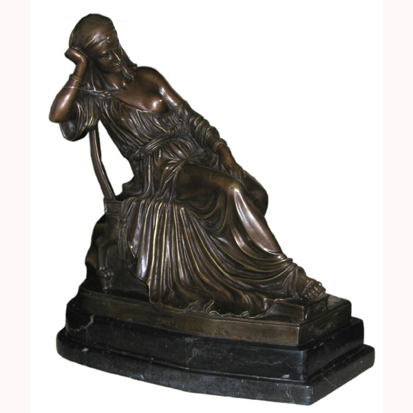 Bronze Girl with Robe