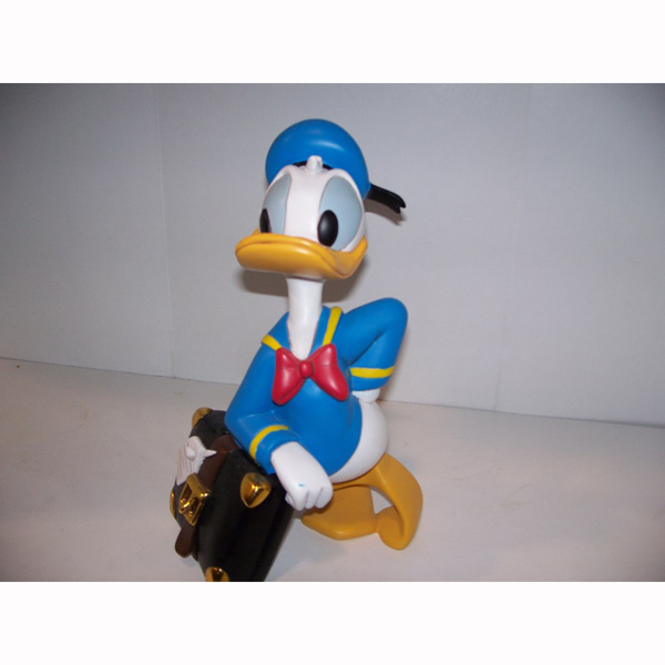 Donald Duck with Suitcase