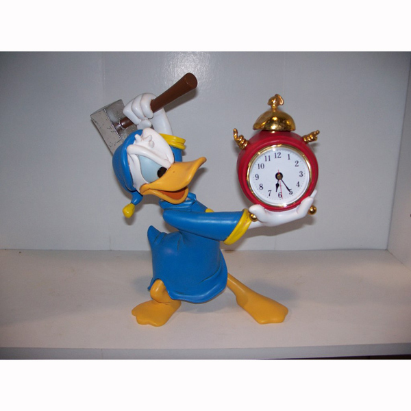 Donald Smashing Clock