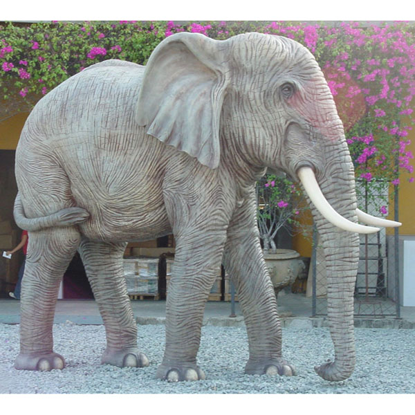 fiberglass elephant statues. Black Bedroom Furniture Sets. Home Design Ideas