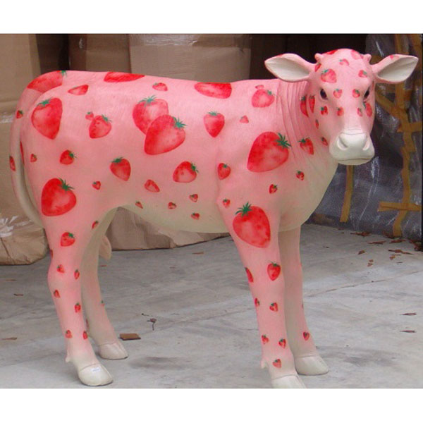 Strawberry Milk Shake 4' Calf